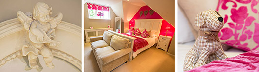 The-Garden-Cottage's-Loft-Bedroom